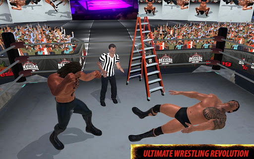 World Wrestling Revolution Stars: 2017 Real Fights 1.0.2 Screenshots 9
