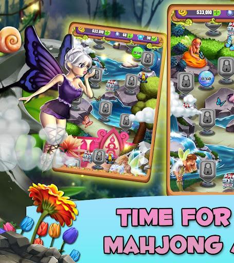 Mahjong Magic Lands: Fairy King's Quest Apkfinish screenshots 8