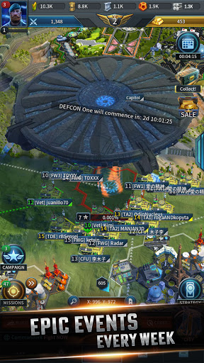Instant War - Real-time MMO strategy game apkmr screenshots 8