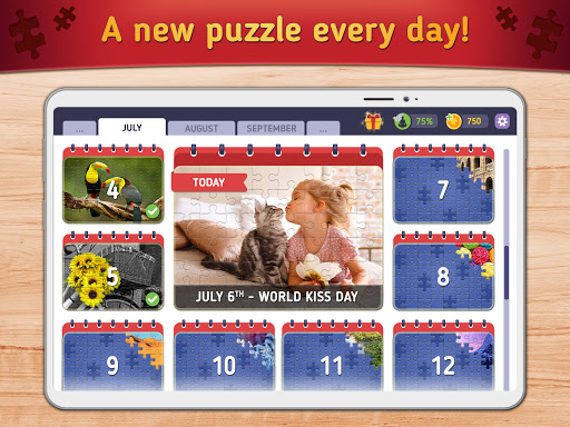 Relax Jigsaw Puzzles android2mod screenshots 8
