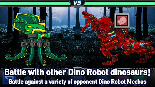 T-Rex Red - Combine! Dino Robot : Dinosaur games 2.1.9 screenshots 3