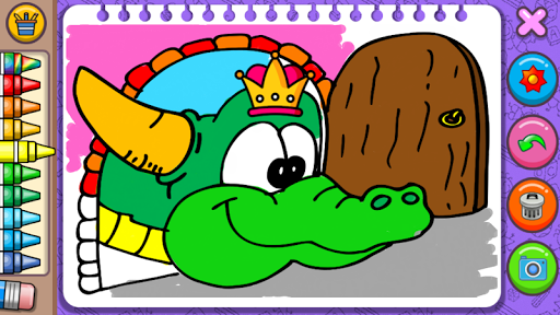 Princess Coloring Book & Games 1.44 screenshots 5