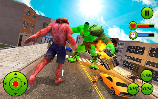 Incredible Monster Hero City Battle New Games 2021  screenshots 2