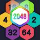 2048 Hexagon Match