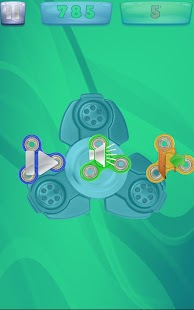 Swipe Spinner - Fidget Spinner Screenshot