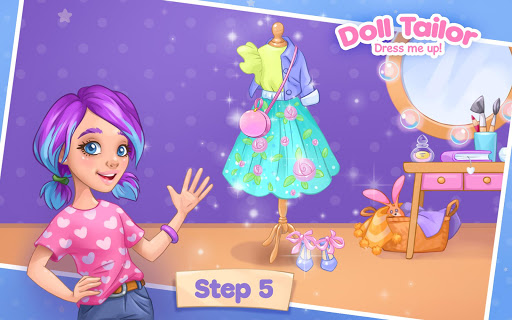Fashion Dress up games for girls. Sewing clothes  screenshots 18