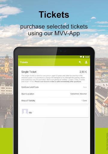 MVV-App u2013 Munich Journey Planner & Mobile Tickets  Screenshots 12