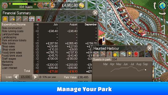 RollerCoaster Tycoon® Classic Apk Download 5