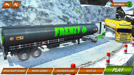 Offroad Oil Tanker Truck Transport Driver  Screenshots 7