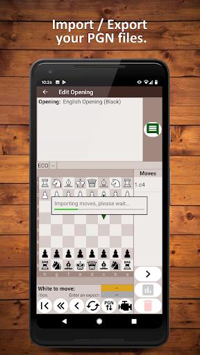 Chess Openings Trainer Free - Build, Learn, Train 6.5.3-demo screenshots 2