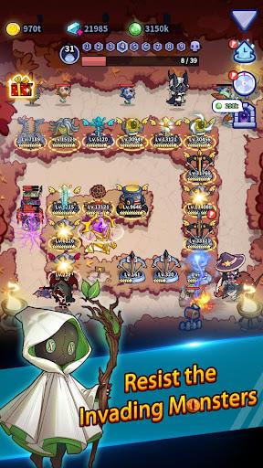 Idle Defense: Dark Forest  screenshots 2