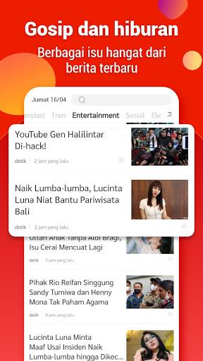 Indo Today - Baca berita, dapatkan uang saku!  screenshots 1