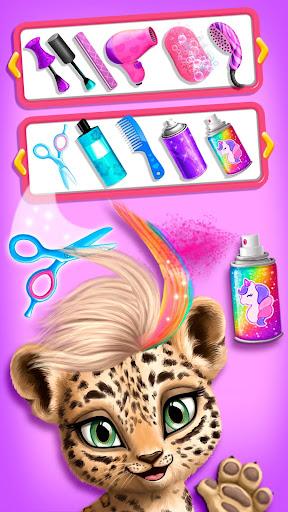 Jungle Animal Hair Salon - Styling Game for Kids 4.0.10018 screenshots 3