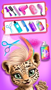 Jungle Animal Hair Salon – Styling Game for Kids 3