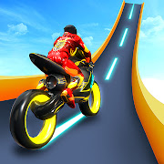 Cyber Bike Racing - Light Bike Stunt Racing Games