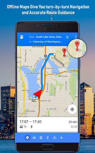 GPS Offline Navigation Route Maps & Direction 1.3.1 Screenshots 2