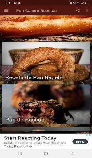 Pan Casero Recetas Fáciles  screenshots 2