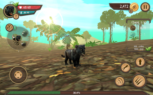 Wild Panther Sim 3D  screenshots 22