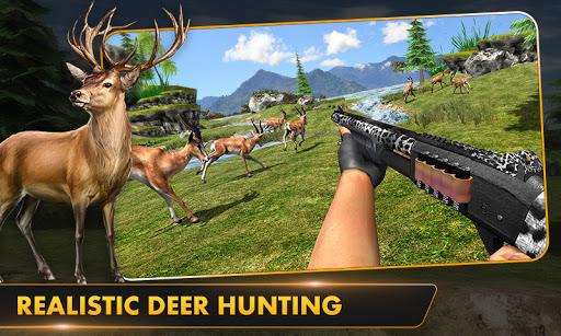 Wild Deer Hunt 2021: Animal Shooting Games apktram screenshots 5