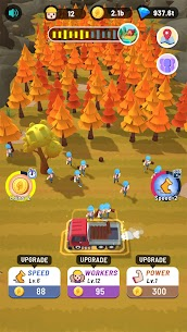 Idle Lumber MOD APK 1.2 (Unlimited Money) 9