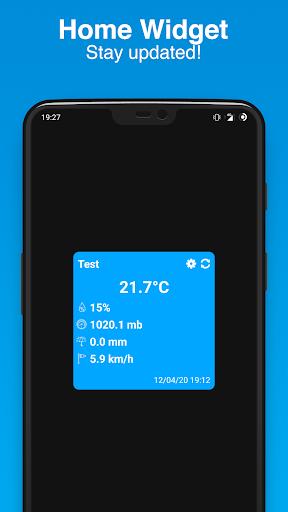 PWS Watcher u26c5ufe0f Personal Weather Station Monitoring 1.10.11 Screenshots 2