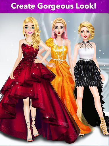 Model Fashion Red Carpet: Dress Up Game For Girls 0.4 screenshots 16