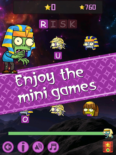 Words vs Zombies - fun word puzzle game apkmr screenshots 10