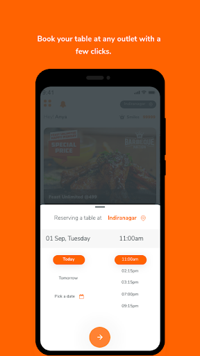 Barbeque Nation - Best Casual Dining Restaurant 3.12 Screenshots 2