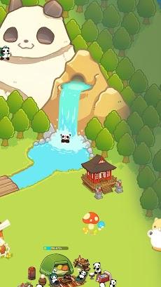 パンダと作ろう!キャンプ島 - Panda Camp -かわいい動物育成ゲームのおすすめ画像2
