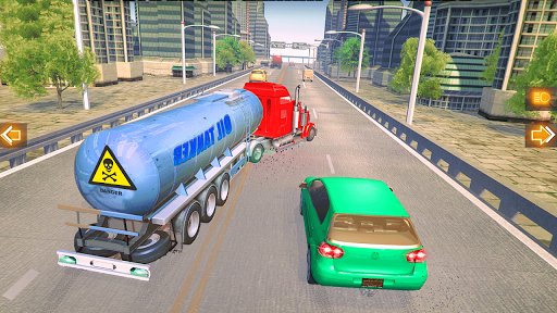 In Truck Highway Rush Racing Free Offline Games 1.2 screenshots 3