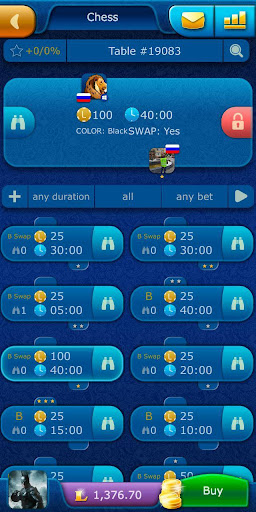 Chess LiveGames - free online game for 2 players 4.00 screenshots 3