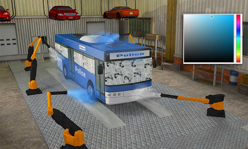 Police Car Wash Service: Gas Station Parking Games 1.4 screenshots 3