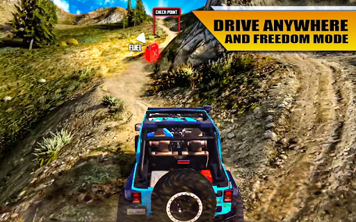 4x4 Suv Offroad extreme Jeep Game apkpoly screenshots 9