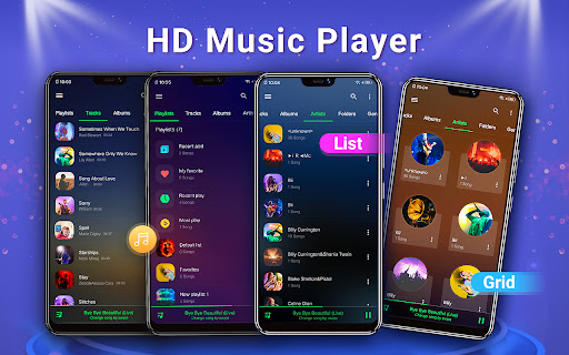 Music Player - Bass Boost, MP3 android2mod screenshots 17