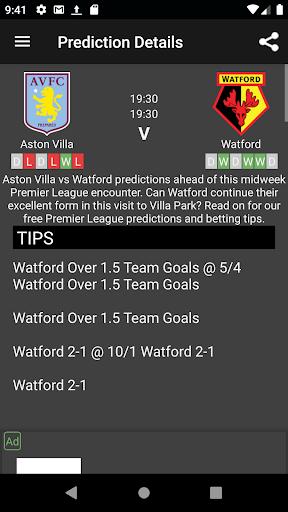 Sure Bet Predictions 7.3 Screenshots 7