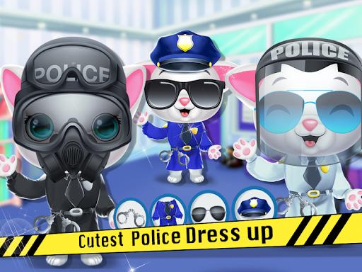 Kitty Cat Police Fun Care & Thief Arrest Game screenshots 8