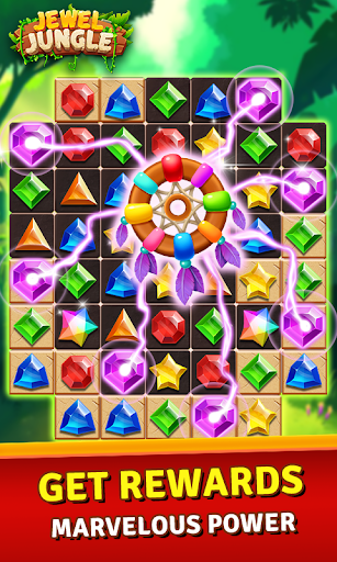 Jewels Jungle Treasure: Match 3  Puzzle 1.7.7 screenshots 4