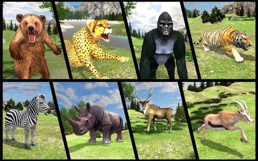 Real Jungle Animals Hunting - Free shooting game android2mod screenshots 5