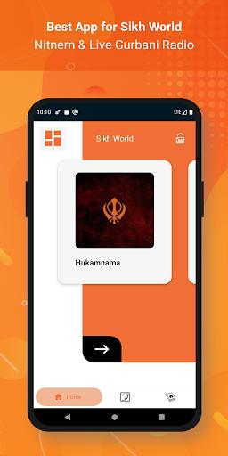 Sikh World - Nitnem & Live Gurbani Radio android2mod screenshots 1
