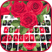 Beautiful Roses Keyboard Theme