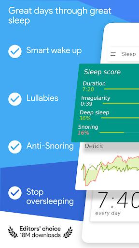 sleep as android 💤 sleep cycle smart alarm screenshot 1