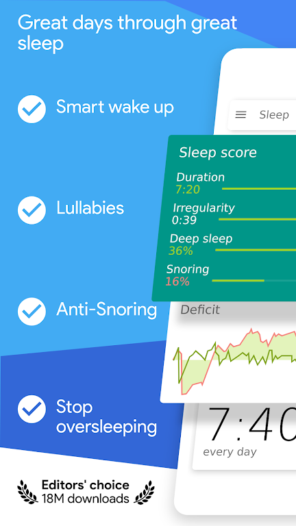 Sleep as Android 💤 Sleep cycle smart alarm  poster 0