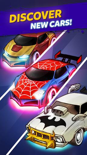 Merge Cyber Cars: Sci-fi Punk Future Merger  screenshots 4