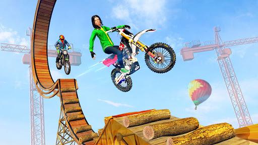 Racing Bike Stunt Games 2021 : Bike Race Game 3D Apkfinish screenshots 2