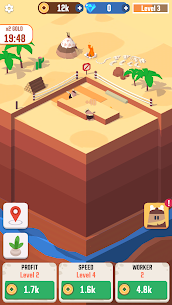 Idle Digging Tycoon MOD (Unlimited Money) 1