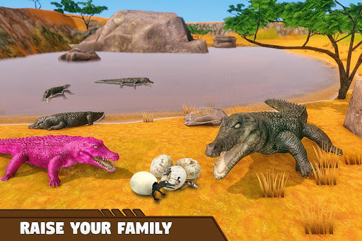 Crocodile Family Simulator Games 2021 1.0 screenshots 12