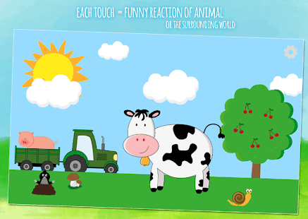 Moo & animals - kids game for toddlers from 1 year 1.9.4 Screenshots 7