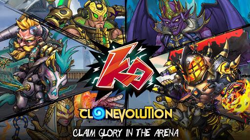 Clone Evolution: Cyber War-Borderlands Fantasy  screenshots 1