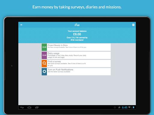 iPoll u2013 Make money on surveys  Screenshots 4