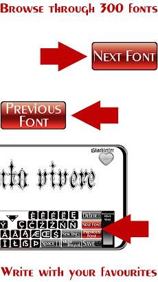 Tattoo Font Designer ❤️ A tattoo lettering appのおすすめ画像3